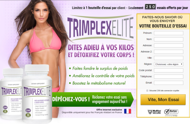 Trimplex Elite Trimplex Elite has the organic weight reduction power of raspberry ketone as well as eco-friendly coffe extract. These two ingredients have actually been known to boost your metabolic process to ensure that your body can shed fat more effectively. The ras
