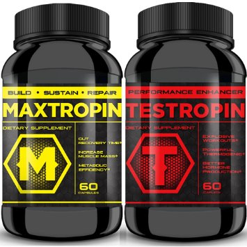 Maxtropin and Testropin Which ingredients are used in Maxtropin?