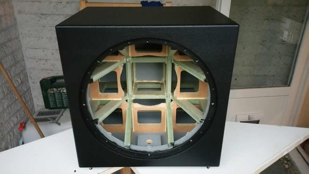 "Warnex - Dayton RSS390HO-4 15"" project"