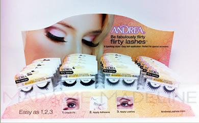 Andrea Flirty Lash 16pc Display (69111) Picture Box