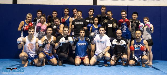 Boxing Melbourne Team Nemesis Martial Arts