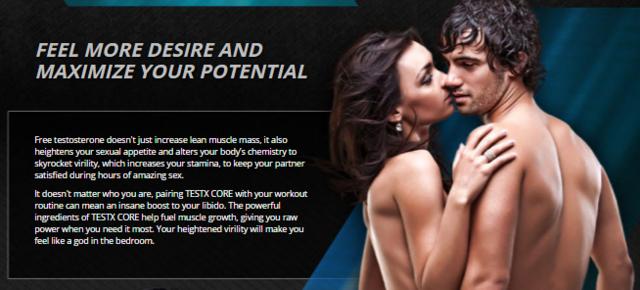 Testx Core Works for men Picture Box