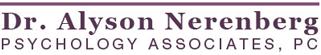 addiction counseling Dr. Alyson Nerenberg Psychology Associates, PC
