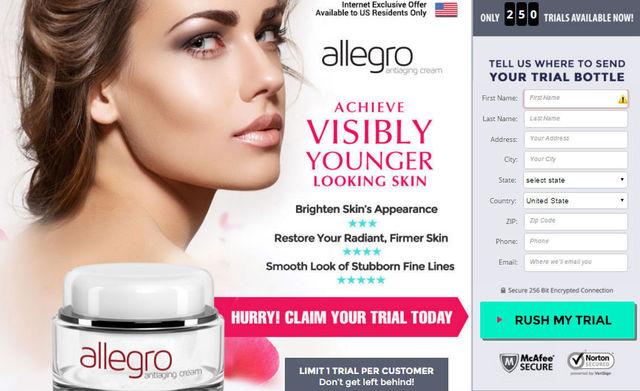 Allegro Anti-Aging Cream Allegro Anti-Aging Cream