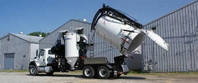 Vacuum Truck Services Picture Box