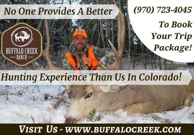Colorado Mule Deer Hunting With Buffalo Creek Outf Buffalo Creek Outfitters