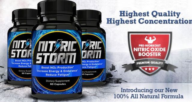 Nitric Storm Nitric Storm- Get Ripped and well shaped body?