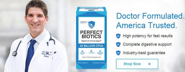 Probiotic-America How does Perfect Biotics promote digestive health?