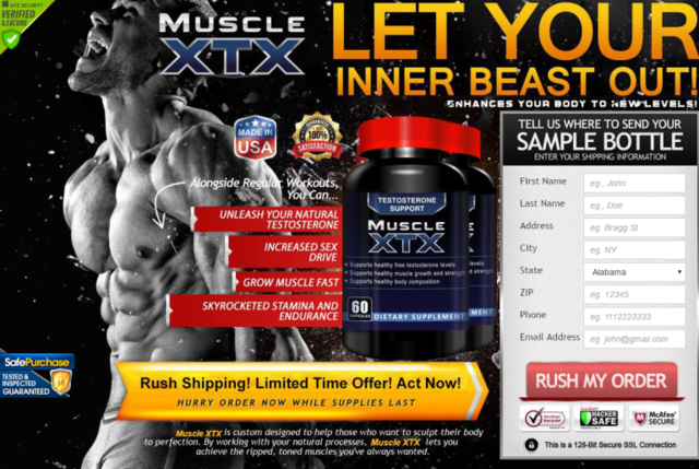 Muscle XTX.  What Ingredient is utilized making Muscle XTX?