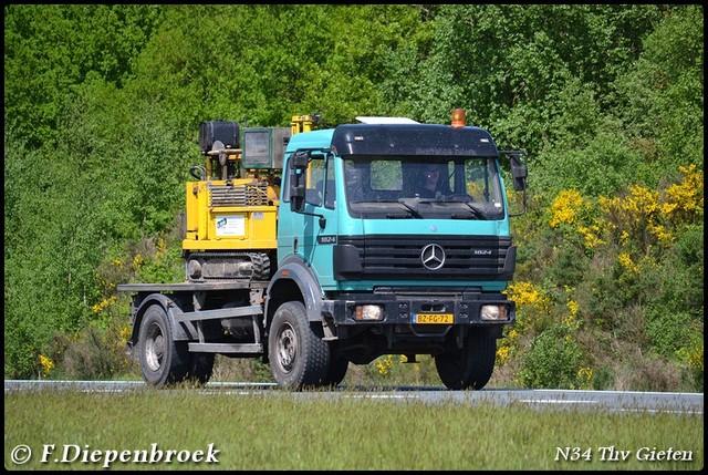 BZ-FG-72 MB SK-BorderMaker Rijdende auto's