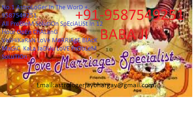 Untitled FaMiLy ProBlEm +9587549251 love problem solution specialist baba ji