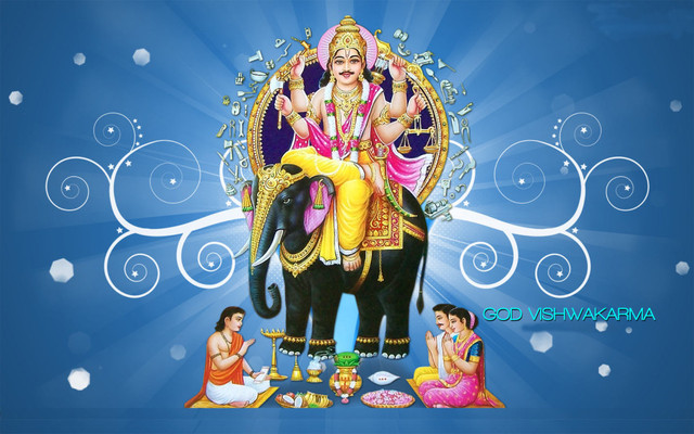 vishwakarma-god-hd-wallpaper-download-vishwakarma-  $$PowerFull$$Tantrik91-9636854282 childless women problem solution Saharanpur