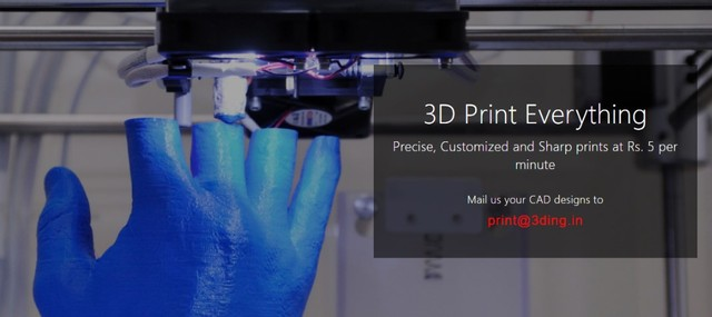 1 3Ding | 3D Printers & 3D Printing Services, Chennai, India
