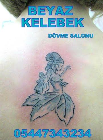 Bakırköy dövmeci, istanbul dövmeci Bakırköy Dövme Salonu Beyaz Kelebek