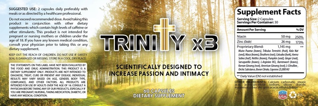Trinity x3REVIEW What is Trinity X3 & its have no side effect?