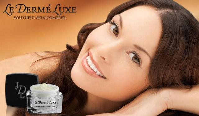 Le Derme Luxe How removes casmetics particle with Le Derma luxe?
