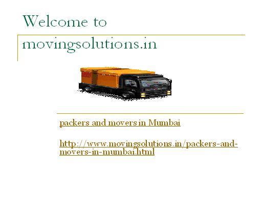mumbai1 packers and movers mumbai
