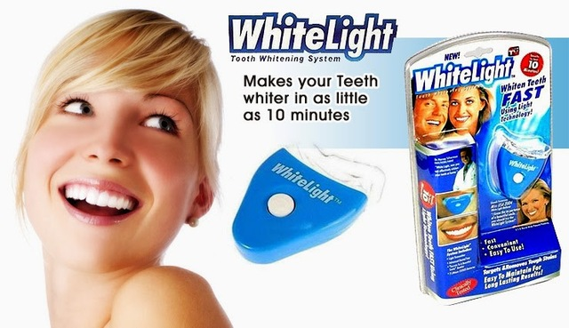 White Light Teeth Whitener http://www.dailyfitnessfact.com/white-light-smile-teeth-whitener/