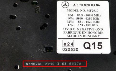 Chrysler Radio Codes Honda Radio Codes