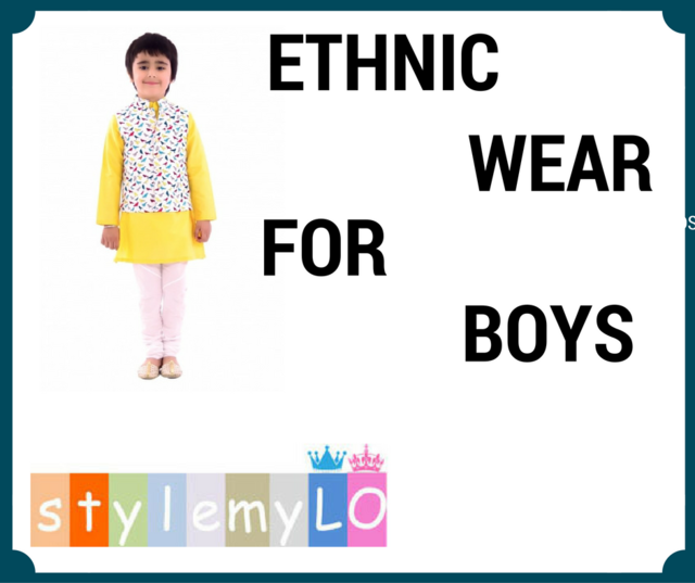 Ethnic Wear for Boys Picture Box