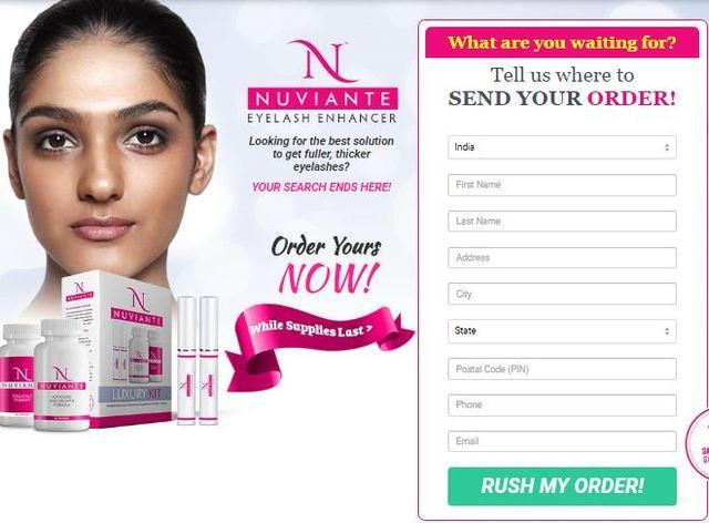 nuviante eyelash enhancer Nuviante Eyelash Enhancer
