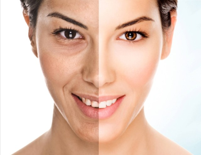 Different Skin Types as per Ayurveda Vata Skin Picture Box