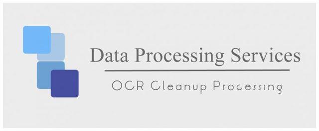 OCR Cleanup Processing OCR Cleanup Processing