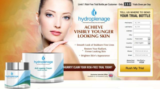 hydroplenage Which active Ingredients are used in Hydroplenage?