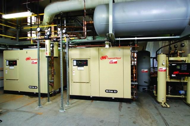 rotary compressor Ingersoll Rand
