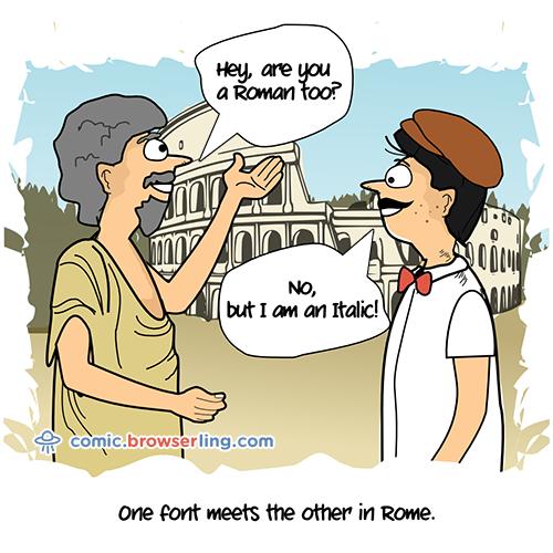 Rome - Web Joke Tech Jokes