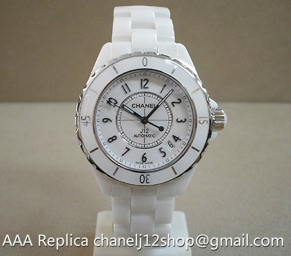 Chanel J12 White Ceramic Automatic 38mm Unisex H09 Chanel j12 Price