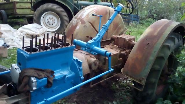 ZetorSuper 35 m23c tractor real