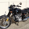 SOLD.....1976 BMW R90/6, Black. Dual Disc, Stainless Spokes, Koni Shocks, 46,891 Miles.