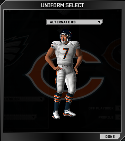 BearsAllWhite UniformScreenshots