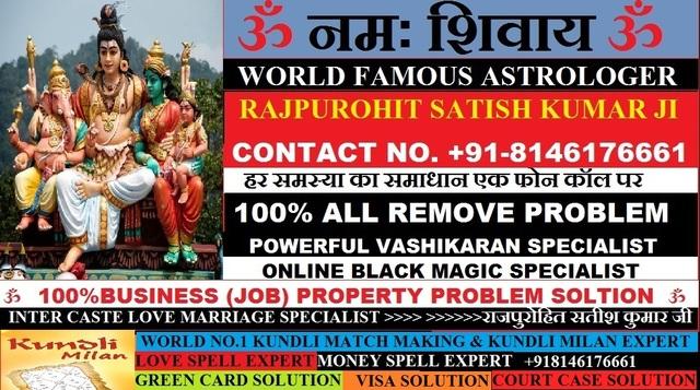 8146176661 World Famous Pandit ji (*(+91-8146176661)*) LOve problem Solution Astrologer In UK ,USA ,UAE