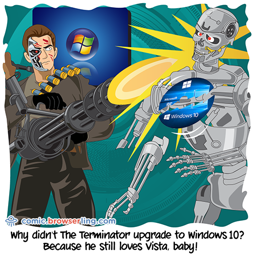 Terminator - Web Joke Tech Jokes