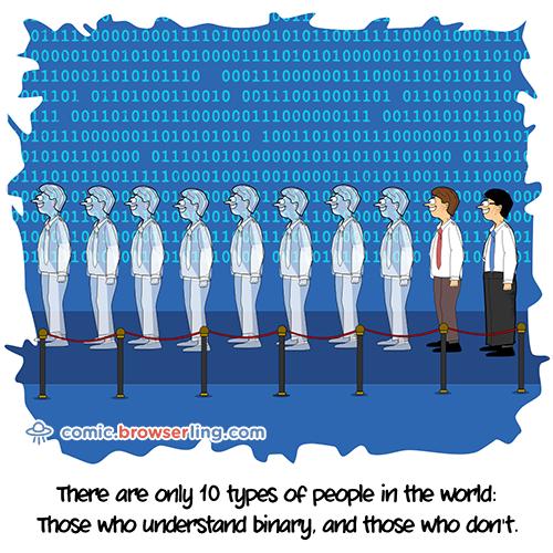 Binary - Web Joke Tech Jokes