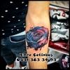 rose gül watercolor - dövme sefaköy arenepark arm...