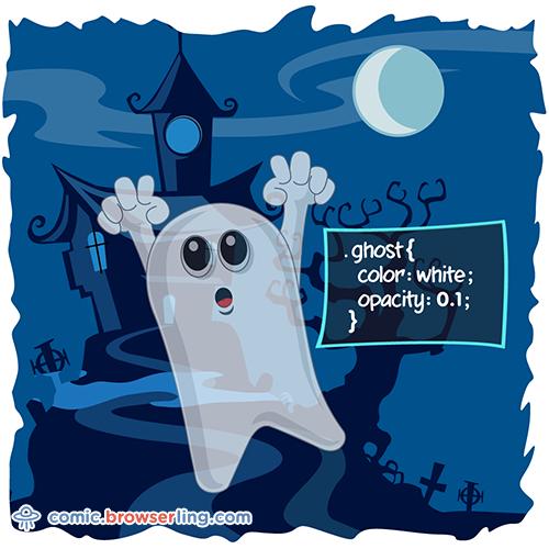 Ghost - Web Joke Tech Jokes