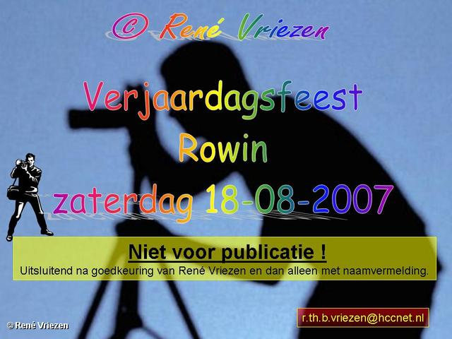 René Vriezen 2007-08-18 #0000 Verjaardag Rowin 9 18-08-2007