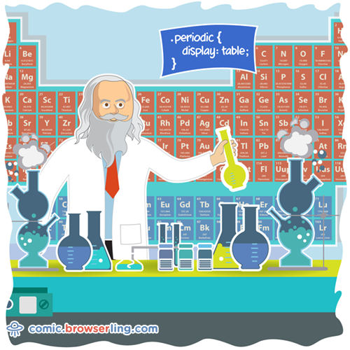Mendeleev - Web Joke Tech Jokes