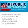 Republic Moving San Diego