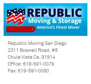 Republic Moving San Diego1 Republic Moving San Diego