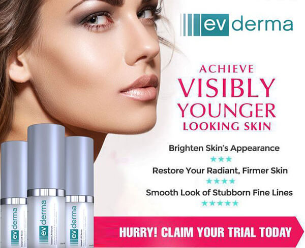 Ev-Derma-Reviews It gives ideal hydration to the skin