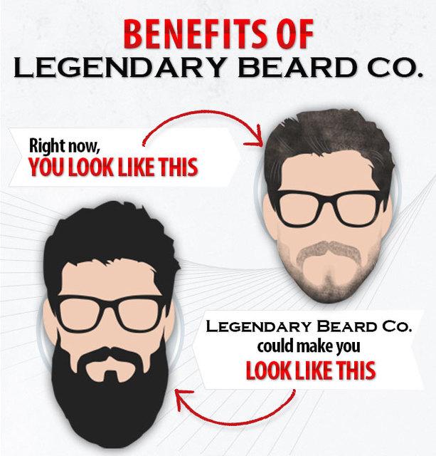 ppp  Legendary Beard Co Heal & nourish skin under your beard