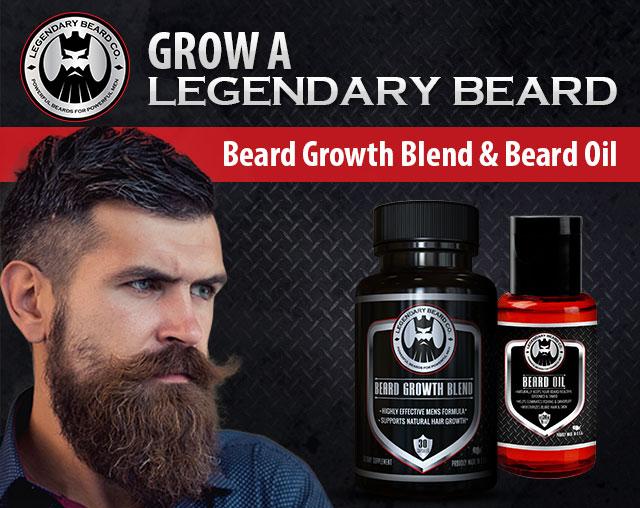 http://www.muscle4power Legendary Beard Co
