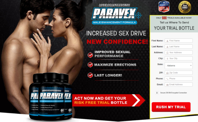 Paravex-Male-Enhancement Paravex  It makes you capable of satisfying your spouse during sex