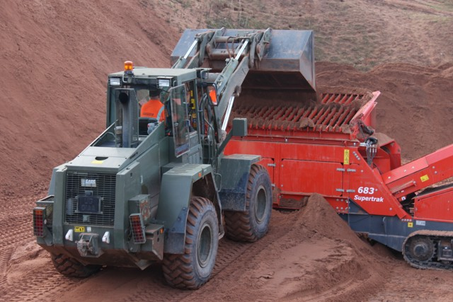 plant hire Esk Quarry