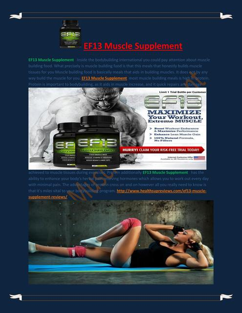 EF13 Muscle Supplement-page-001 EF13 Muscle Supplement