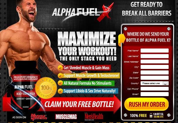 Alpha Fuel: Improve Testosterone Boosting Formula! Alpha Fuel Reviews